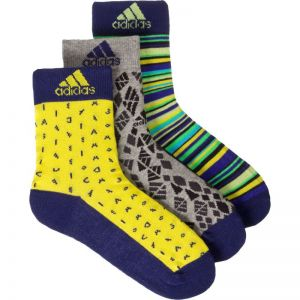 Skarpety adidas Graphic Junior 3pak AB2272