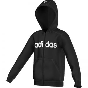 Bluza adidas Essentials Linear Full Zip Hoodie Brushed Junior S23207