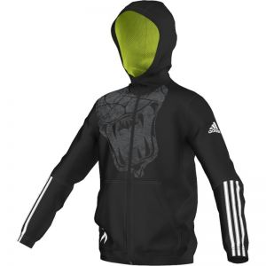 Bluza adidas Locker Room Team Chaos Full Zip Hoodie Junior AA8126