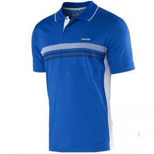 Koszulka tenisowa Head Club Men Polo Shirt Technical 811655 niebieska
