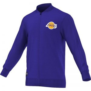 Bluza adidas Los Angeles Lakers Winter Hoops FZ On Court Take Down M AA7975
