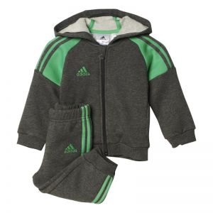 Dres adidas 3 Stripes Full Zip Hooded Jogger Kids AB6921