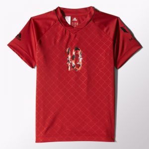 Koszulka adidas Messi Q Icon Tee Junior S30366