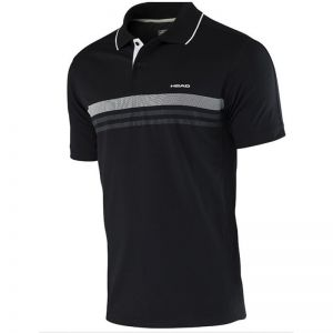 Koszulka tenisowa Head Club Men Polo Shirt Technical 811655 czarna