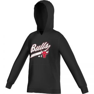 Bluza adidas Y GFX Team Hood Chicago Bulls Junior F96472