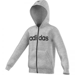 Bluza adidas Essentials Linear Full Zip Hoodie Brushed Junior S23206