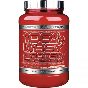 100% Whey Protein Professional SCITEC NUTRITION 920g + GRATISY