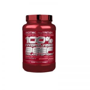 100% Hydrolyzed Beef Isolate Peptides SCITEC NUTRITION 1800g wanilia + GRATISY