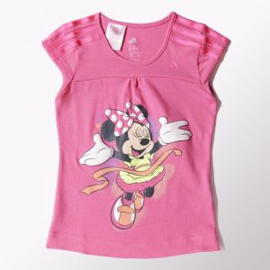 Koszulka adidas Minnie Long Tee Kids S22062