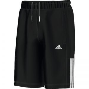 Spodenki adidas Essentials Mid 3S Knit French Terry Short Junior S23280