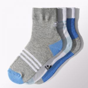 Skarpety adidas Little Kids Ankle Socks Kids 3pak S15663