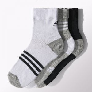 Skarpety adidas Little Kids Ankle Socks Kids 3pak S15661