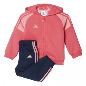 Dres adidas 3 Stripes Full Zip Hooded Jogger Kids AB6922