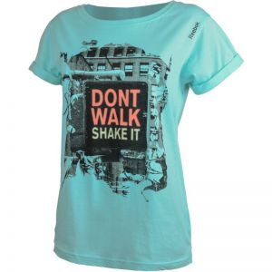 Koszulka Reebok UA COTTON PHOTO TEE SHAKE IT M S01373