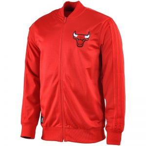 Bluza adidas Chicago Bulls Winter Hoops FZ On Court Take Down M S92377