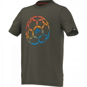 Koszulka adidas Graphics Coloured Football Tee Junior M64423