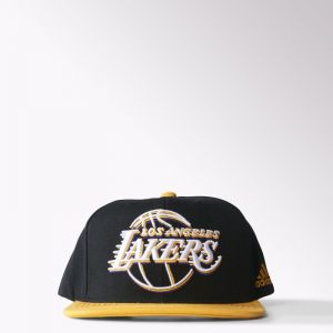 Czapka z daszkiem adidas Los Angeles Lakers Flat Brim Hat S24780