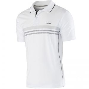Koszulka tenisowa Head Club Men Polo Shirt Technical 811655 biała