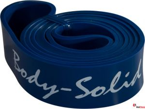 Guma treningowa oporowa Body-Solid  POWER BAND CrossFit niebieska - heavy